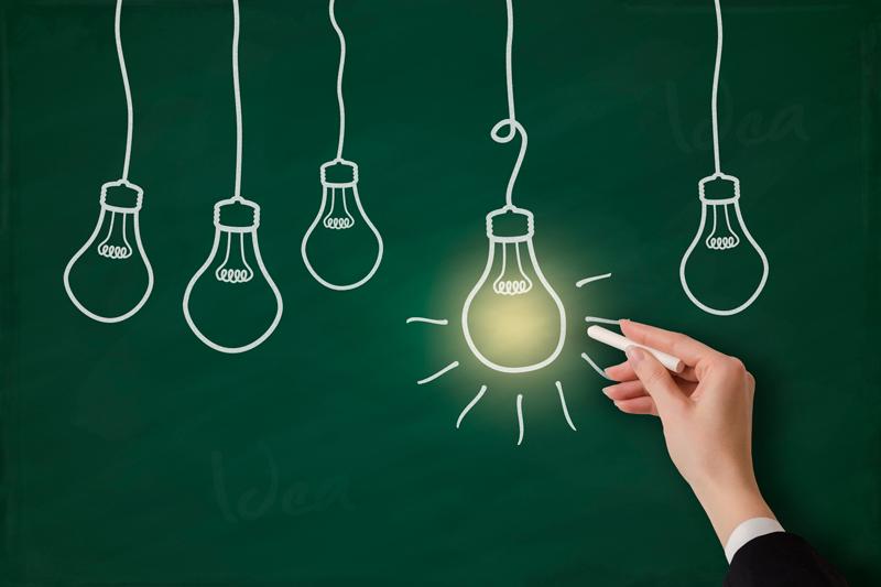 лампа-идея